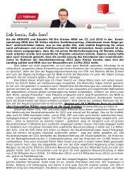 2010 – 2012: Zwei gute Jahre für Stadt und - Hahnen, Uli