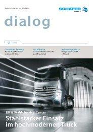 dialog - Magazin für Partner und Mitarbeiter - Schäfer-Werke