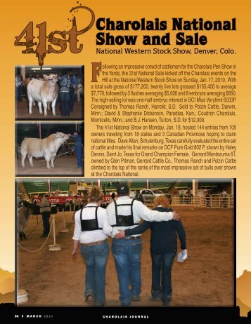 Charolais National Show and Sale - American International ...