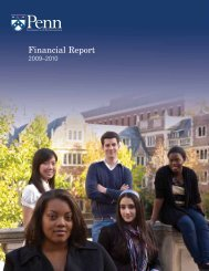 Financial Report - Office of the Vice President for Finance and ...
