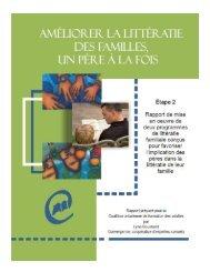 Améliorer la littératie des familles, un père à la fois - Coalition ...