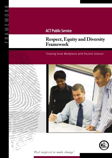Respect, Equity and Diversity Framework - ACT Government