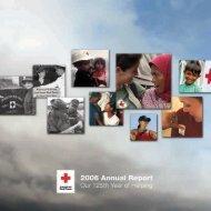 2006 Annual Report - American Red Cross