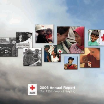 2006 Annual Report - American Red Cross
