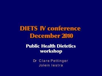 clare pettinger.pdf - Diets
