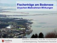 Schotzko: Fischerträge am Bodensee - Ursachen-Maßnahmen ...