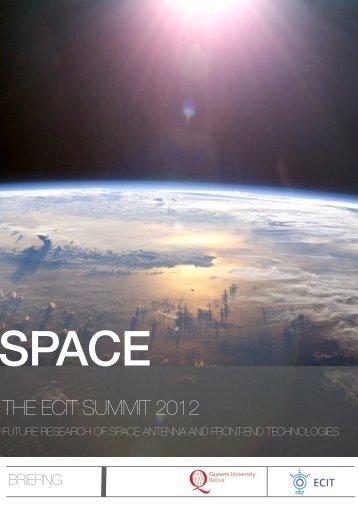 Space 2012 Briefing - ECIT - Queen's University Belfast
