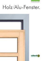 Holz-/Alu-Fenster - Welt des Wohnens