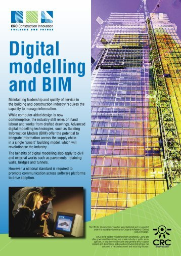 Digital modelling and BIM [Apr07] - Construction Innovation