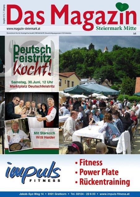 Juli 2012 - DAS MAGAZIN Steiermark-Mitte