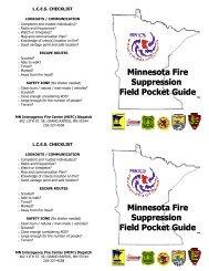Minnesota Fire Suppression Field Pocket Guide ... - MNICS.org