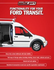 Ford transit. - Weather Guard