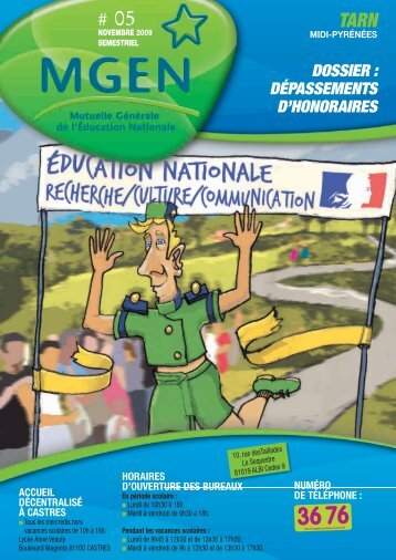 DOSSIER : DÉPASSEMENTS D'HONORAIRES - Mgen