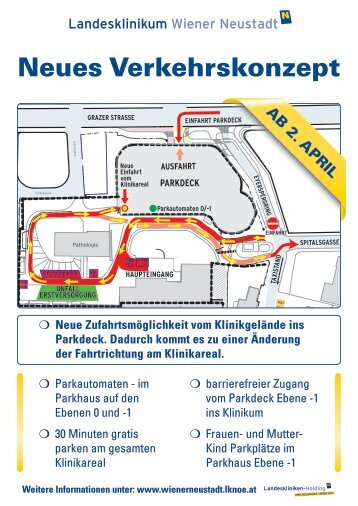 Neues Verkehrskonzept - Landesklinikum Wiener Neustadt