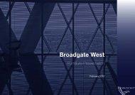 Broadgate West - Vitra Furniture, Knoll Furniture, Knoll dealer