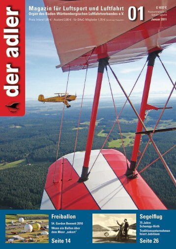Januar adler 2011 - Informationen - Piloten - Flugzeuge - Luftrecht
