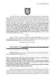 Č.j.: 110 Ex 2614/09-1108 Mgr. Martin Svoboda, soudní exekutor, se ...