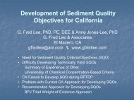 Development of Sediment Quality Objectives for California