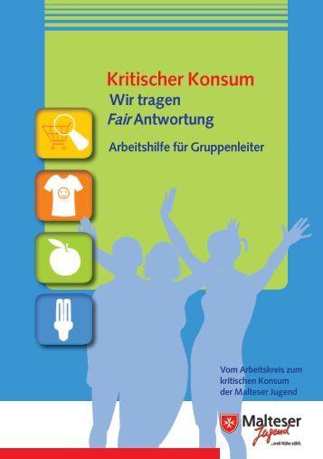 Arbeitshilfe Kritischer Konsum - Malteser Jugend Paderborn