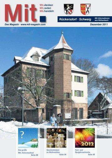Rückersdorf - Mitteilungsblatt