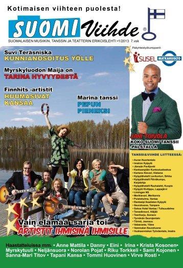 Nro 1/2013 - SuomiViihde-lehti