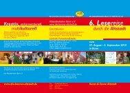6. Lesereise - Bonner Altstadt