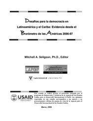Desafíos para la democracia en Latinoamérica y el Caribe ...