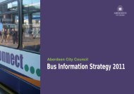 Bus Information Strategy 2011 - Aberdeen City Council