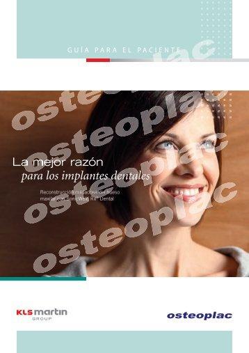 para los implantes dentales - Osteoplac