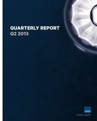 Quarterly report Q2 2013 - Solar.eu