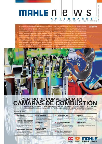 CÁMARAS DE COMBUSTIÓN - mahle.com