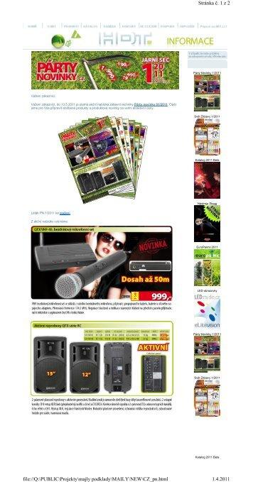 Stránka č. 1z 2 1.4.2011 file://Q:\PUBLIC\Projekty\majly podklady ...