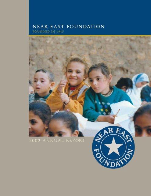 NEF Annual for pdf - Near East Foundation