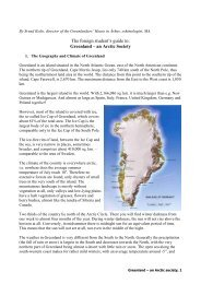 Greenland – an Arctic Society