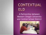 Contextual ELD - Cosa