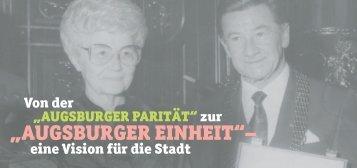 """augsburger einheit""– - Fokolar-Bewegung"