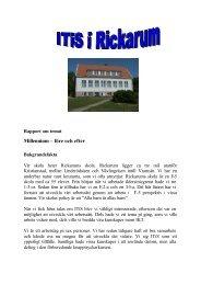Millennium – före och efter - Buf - Kristianstad