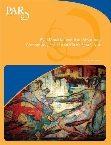 Plan Departamental de Desarrollo Económico y Social de Santa Cruz