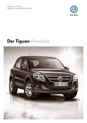 Der Tiguan Freestyle - Volkswagen AG