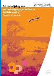Deelstructuurvisie - Provincie Drenthe