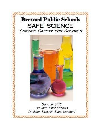 Safe Science - Secondary Programs - Brevard Public Schools