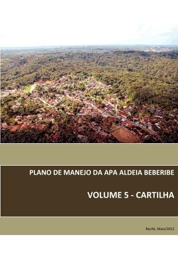 VOLUME 5 - CARTILHA - CPRH - Governo do Estado de Pernambuco