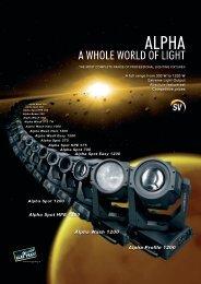 Alpha Range - Clay Paky