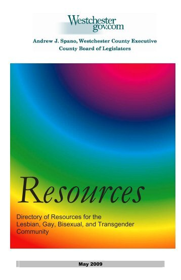 Resources - Westchester Community Organizations