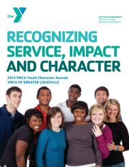 nomination application - YMCA of Greater Louisville