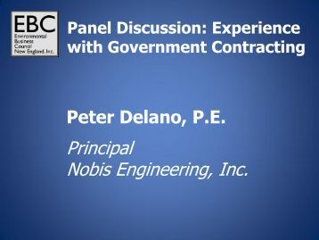 Nobis Engineering, Inc. - Environmental Business Council of New ...