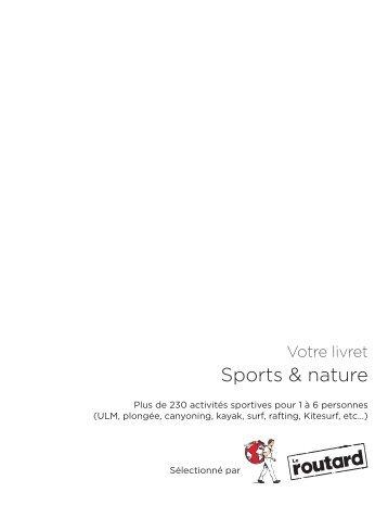 Sports & nature - E-Merchant