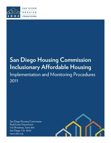 1 Revised August 2011 - San Diego Housing Commission
