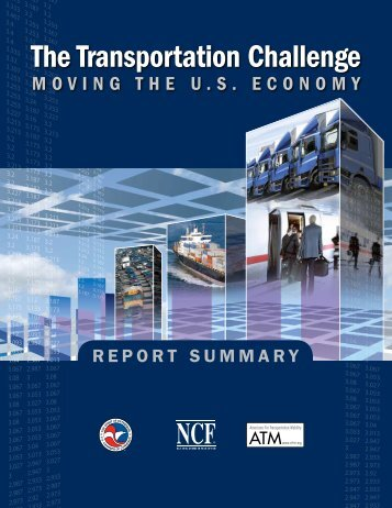 The Transportation Challenge - US Chamber of Commerce