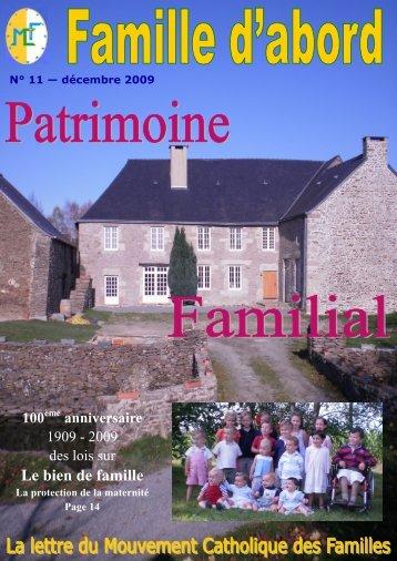 Le bien de famille - La Porte Latine